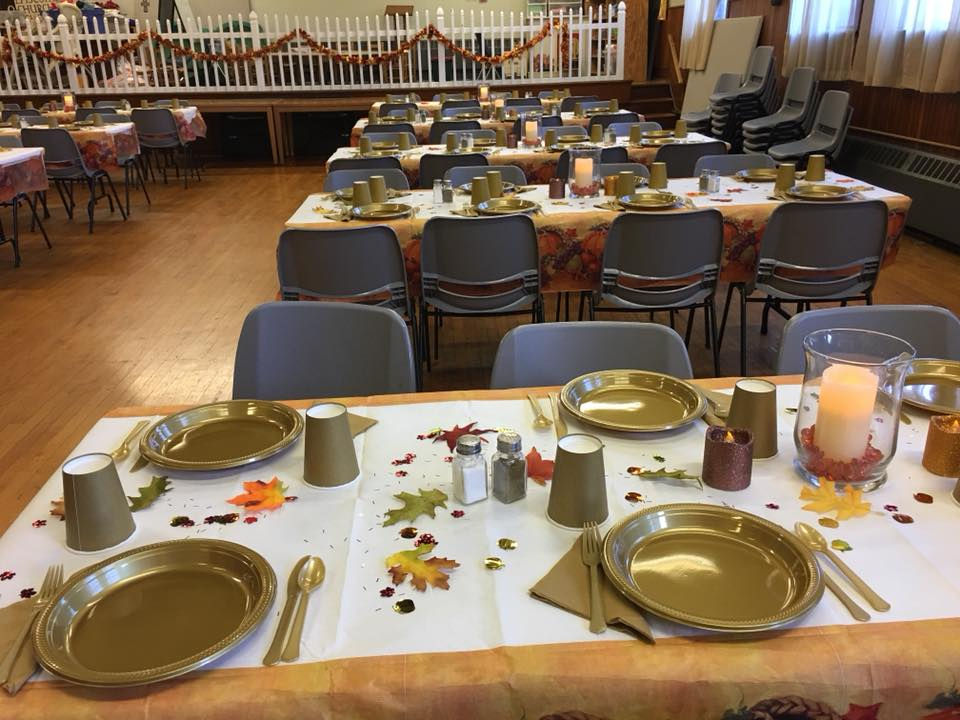 Thanksgiving Lunch at the Soup Kitchen