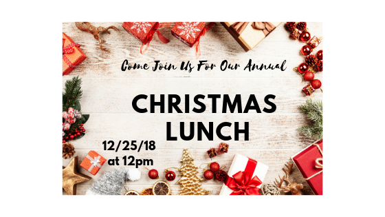 St. Margaret Soup Kitchen Christmas Lunch