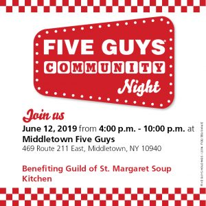 St. Margaret Soup Kitchen Fundraiser